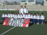 Se presentan las Escuelas Municipales de Fútbol de Lorquí con casi 200 jugadores