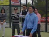 El V Abierto de Pádel 'El Tío Pencho' congrega en el Club de Tenis de Totana a los mejores jugadores del panorama regional en esta modalidad deportiva