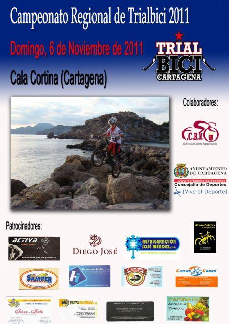 Campeonato Regional de Trial Bici en el rompeolas de Cala Cortina - 1, Foto 1