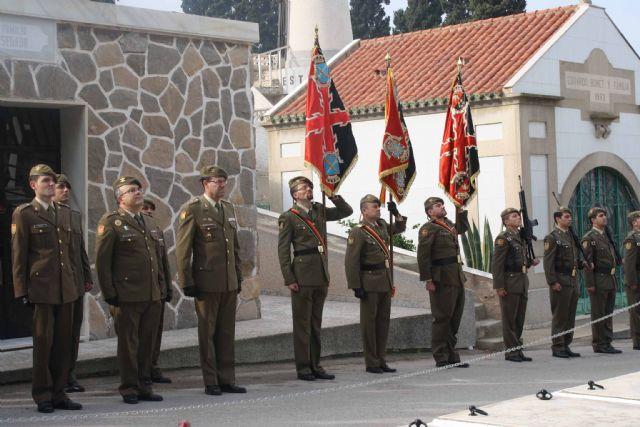 Los Artilleros de Cartagena rinden homenje a sus muertos - 1, Foto 1