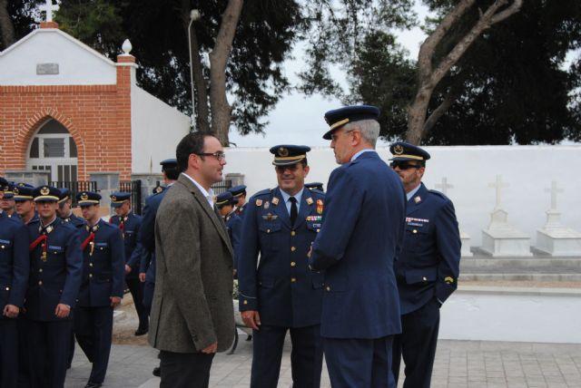 La AGA celebró en el cementerio de San Javier el Día de los Caídos por España - 1, Foto 1