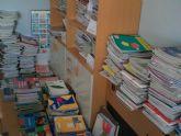 La campaña Sácale punta a tu material escolar permite ayudar a 87 familias de Totana con el préstamo de lotes de libros de texto