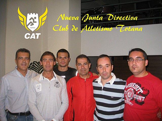 Nueva junta directiva en el Club Atletismo Totana, Foto 1