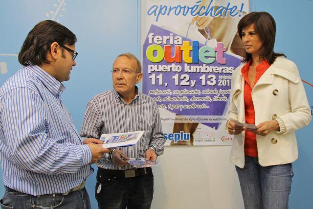 Más de una veintena de comercios locales se darán cita en la III Feria de Comercio Outlet de Puerto Lumbreras - 1, Foto 1