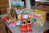 Alguazas distribuye comida del Banco de Alimentos de Cruz Roja a las familias más necesitadas