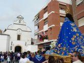 La 'Virgen del Milagro' llega a Mazarrón arropada por un gran número de vecin@s