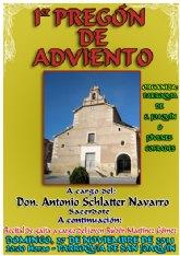 La Parroquia de San Joaquín y la Asociación Juvenil Jóvenes Cofrades de Cieza organizan el 1º Pregón de Adviento