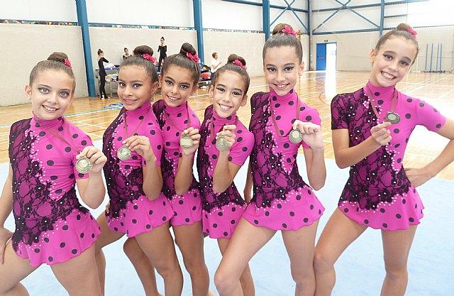La gimnasia rítmica pachequera vuelve a estar en lo más alto de la Región - 1, Foto 1