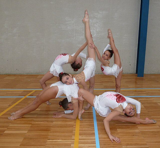 La gimnasia rítmica pachequera vuelve a estar en lo más alto de la Región - 2, Foto 2