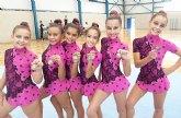 La gimnasia rítmica pachequera vuelve a estar en lo más alto de la Región