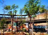 Terra Natura Murcia inicia la plantación de más de 300 árboles para ampliar las zonas verdes