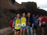 Atletas del CAT Totana participaron en la XXVI edición de la Subida al Castillo de Lorca