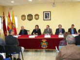 Consejero Sotoca y Patricia Fernández, Alcaldesa de Archena, clausuran un Taller de Empleo que ha dado trabajo a 24 desempleados