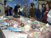 Inaugurada la exposición 'Homenaje a Mazarrón' en el Centro Social de Mayores de Puerto de Mazarrón