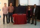 Los comerciantes de Lo Pagán sortean un televisor de 43 pulgadas con las compras navideñas