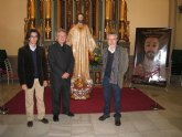 Cultura restaura la imagen del Sagrado Corazón de la iglesia del Carmen de Murcia