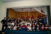 Jugadores del Reale Fútbol Sala comparten experiencias con los escolares de Adoratrices