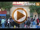 Totana se suma a la lucha contra la violencia de género con una concentración silenciosa.