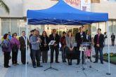 El Alcalde leyó el manifiesto contra la violencia de género en un acto público con motivo del 25-N