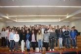 El alcalde de Torre-Pacheco recibe a la Unión Musical de Torre-Pacheco