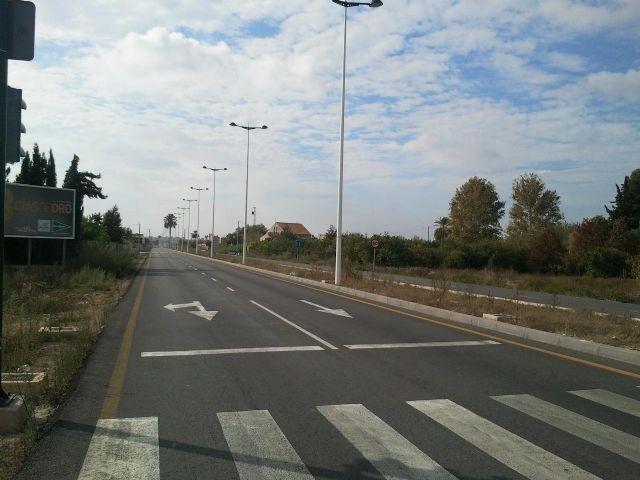 Calidad Urbana acondicioná la mediana y las isletas de la Avenida de Beniaján - 1, Foto 1
