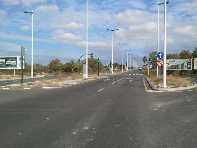 Calidad Urbana acondicioná la mediana y las isletas de la Avenida de Beniaján - 2, Foto 2