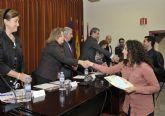 La Universidad de Murcia entrega los diplomas a los 162 alumnos becados con prácticas rurales