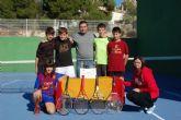 El Campeonato de Tenis entre estudiantes ya tiene a sus campeones