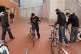 Los universitarios de la Muralla ya disfrutan del nuevo punto de Bicity