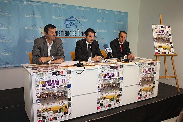 Presentación de la VII Media Maratón de Torre-Pacheco - 1, Foto 1