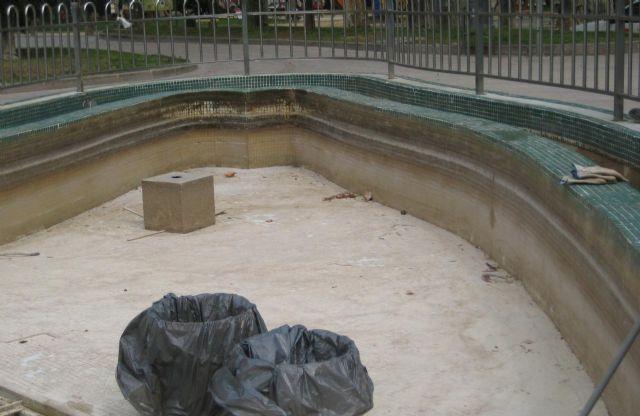 La fuente del Jardín del Salitre  ya está totalmente reformada - 2, Foto 2