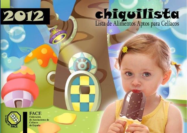 FACE publica la nueva Lista de alimentos aptos para celiacos y la Chiquilista - 1, Foto 1