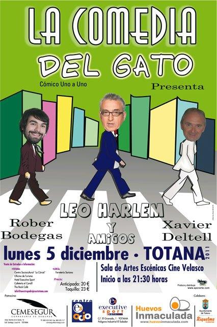 El próximo lunes tendrá lugar la obra La Comedia del Gato - 1, Foto 1