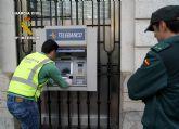 La Guardia Civil detiene a una persona dedicada a cometer estafas a través de cajeros automáticos