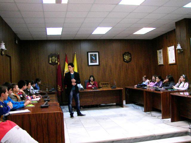 Alumnos de los colegios públicos del municipio visitan las dependencias munipales - 2, Foto 2