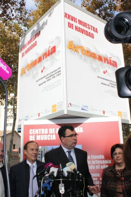 La Muestra Comercial y Artesana da inicio oficial a la actividad navideña en Murcia - 2, Foto 2