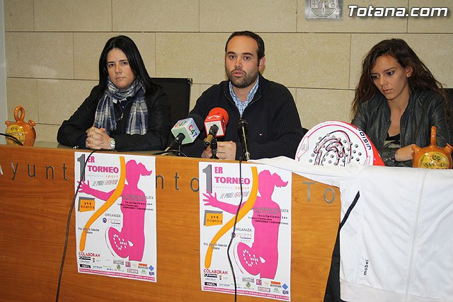 I Torneo de Pádel Femenino, Foto 1