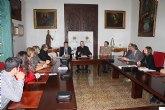 Firma de convenio entre el Ayuntamiento de Torre-Pacheco y la Diócesis de Cartagena para la reparación de las cubiertas de la Iglesia Parroquial de Balsicas