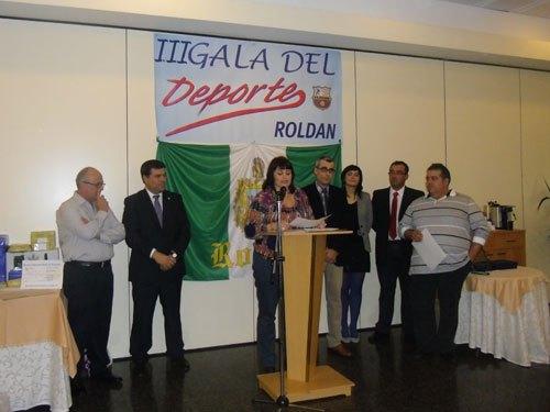 D'Genes galardonada en la III gala del deporte de Roldán, Foto 1