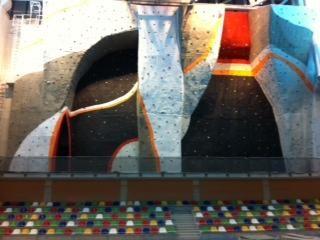 El rocódromo del nuevo pabellón Cagigal está totalmente finalizado - 1, Foto 1