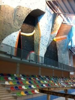 El rocódromo del nuevo pabellón Cagigal está totalmente finalizado - 2, Foto 2