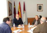 El Alcalde de Puerto Lumbreras recibe al Delegado en  Murcia de la Asociación de Víctimas del Terrorismo