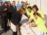 """Las asociaciones Aidemar, Afemar y AECC recaudan 1.200 euros con el """"kilómetro Solidario"""""""