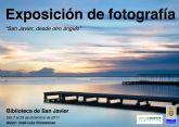 La exposición 'San Javier desde otro ángulo' se traslada a la Biblioteca
