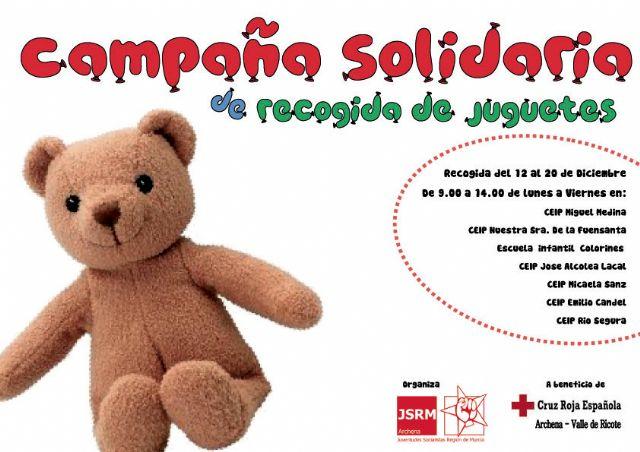 Juventudes Socialistas de Archena pone en marcha una campaña solidaria de recogida de juguetes - 2, Foto 2