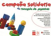 Juventudes Socialistas de Archena pone en marcha una campaña solidaria de recogida de juguetes
