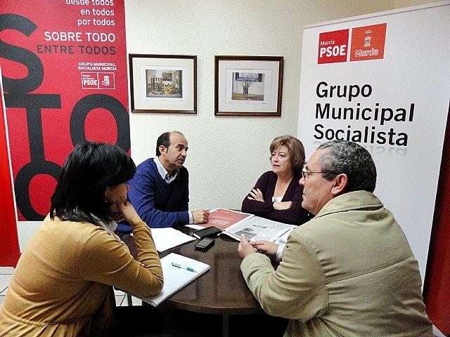 El PSOE recuerda que la paralización de las obras del parking de San Esteban fue el triunfo de los ciudadanos - 1, Foto 1
