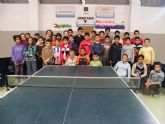 Medio centenar de niñ@s participan en la jornada de tenis de mesa de deporte en edad escolar