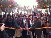 Rafael Gómez y Alicia Barquero participan en la inauguración del belén de la Federación de Peñas Huertanas