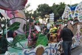 El desfile de carrozas cerró las fiestas patronales 2011